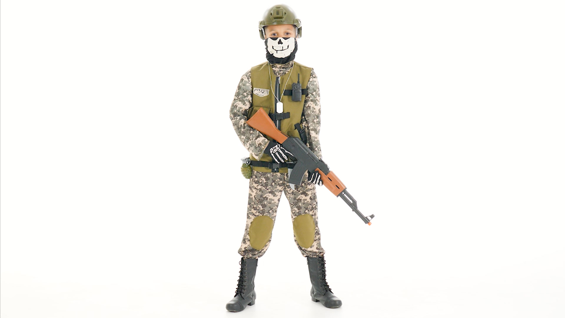 Kids Camo Trooper Costume