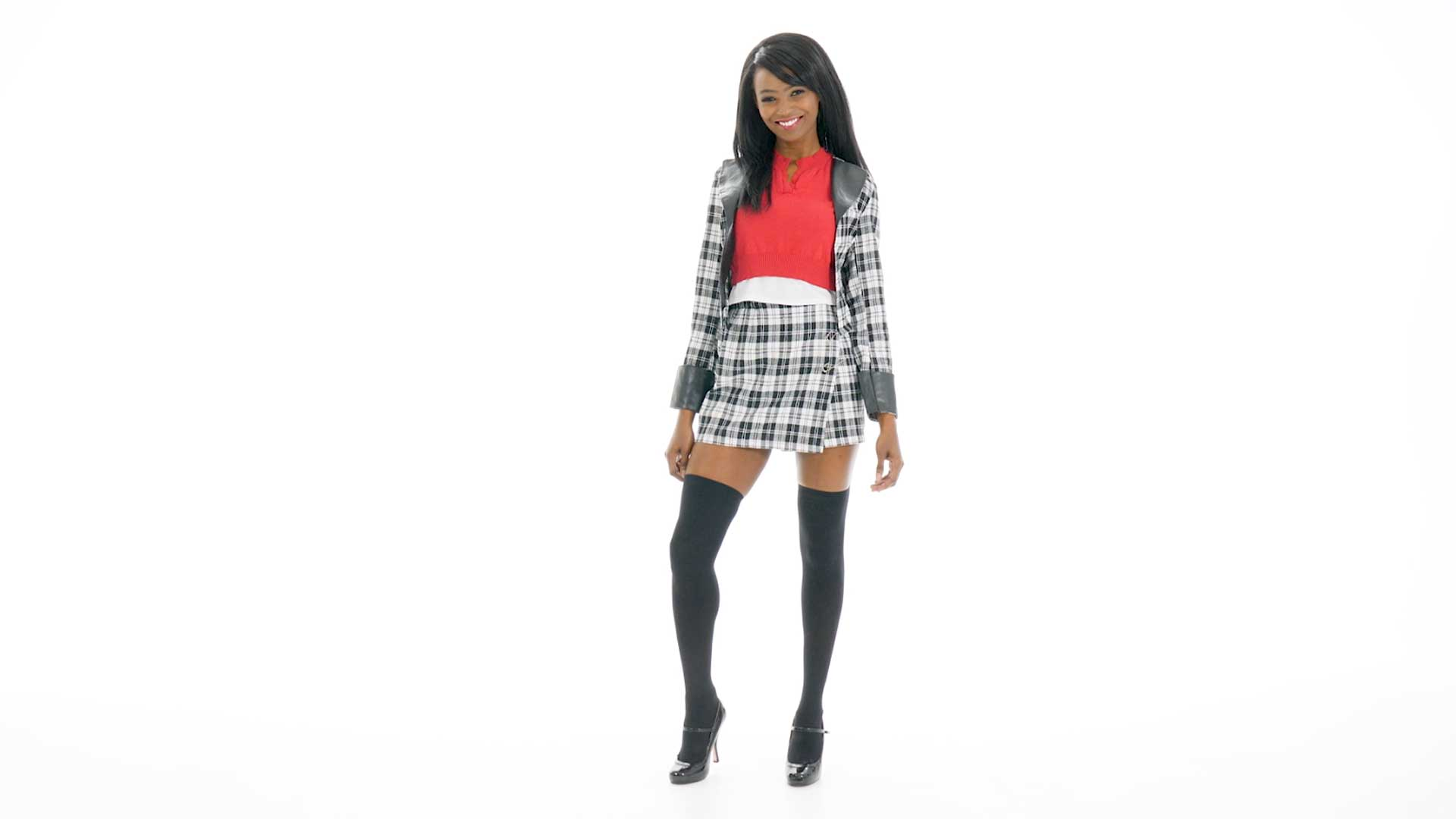 Clueless Dee Plus Size Women's Costume