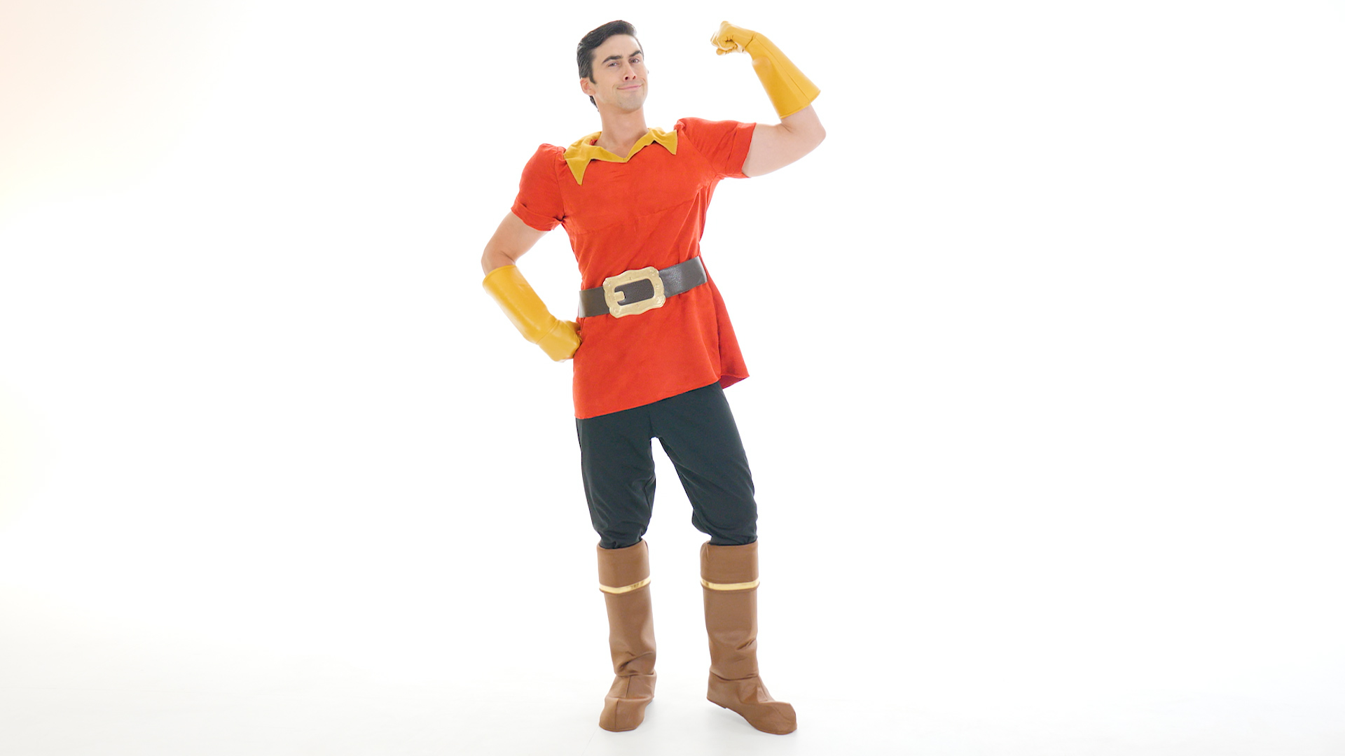 Disney Beauty and the Beast Gaston Costume for Men