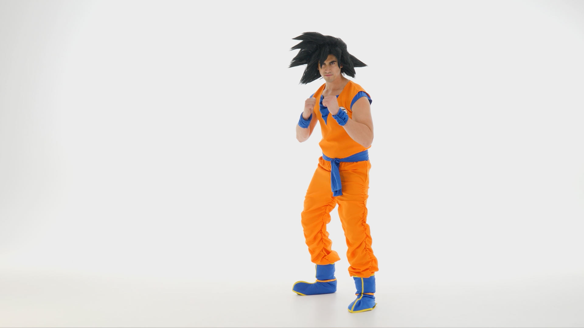 Dragon Ball Z Goku Men's Costume