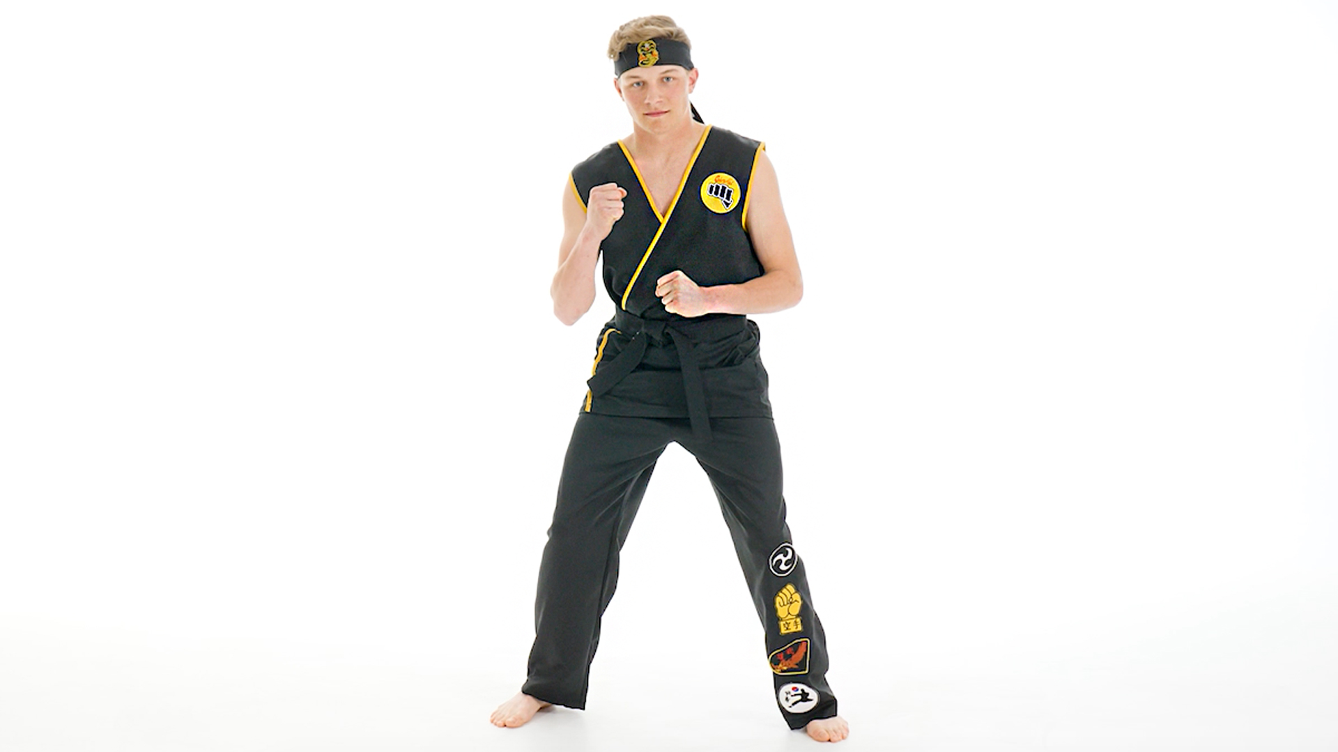 Karate Kid Cobra Kai Men's Costume