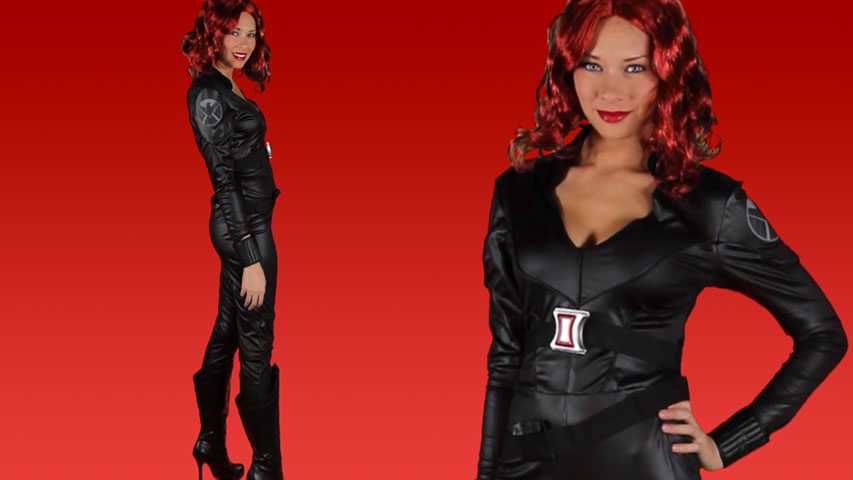 Deluxe Avengers Black Widow Costume