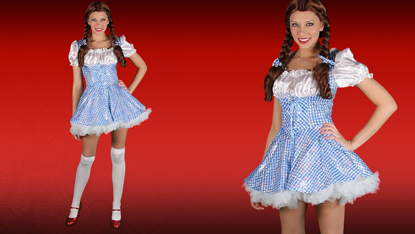 3b2f73a02eb64 Adult Sequin Dorothy Costume
