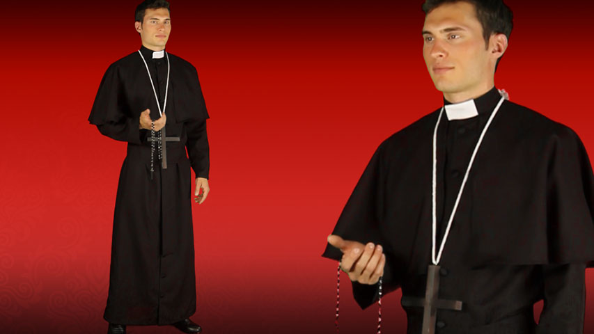 Adult Traditional Priest Costume