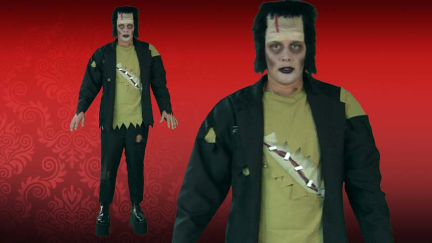 Adult Vintage Frankenstein Monster Costume