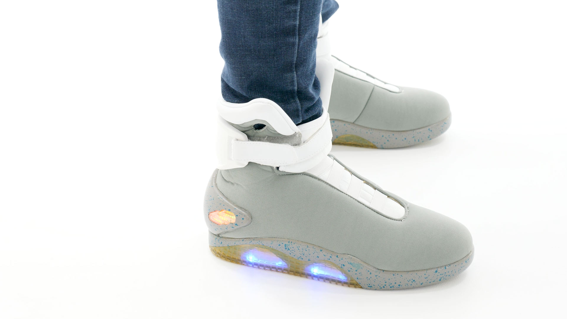 b46890a415a Back to the Future 2 Light Up Shoes