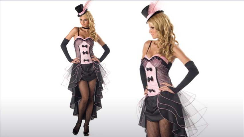 Burlesque Dancer Costume