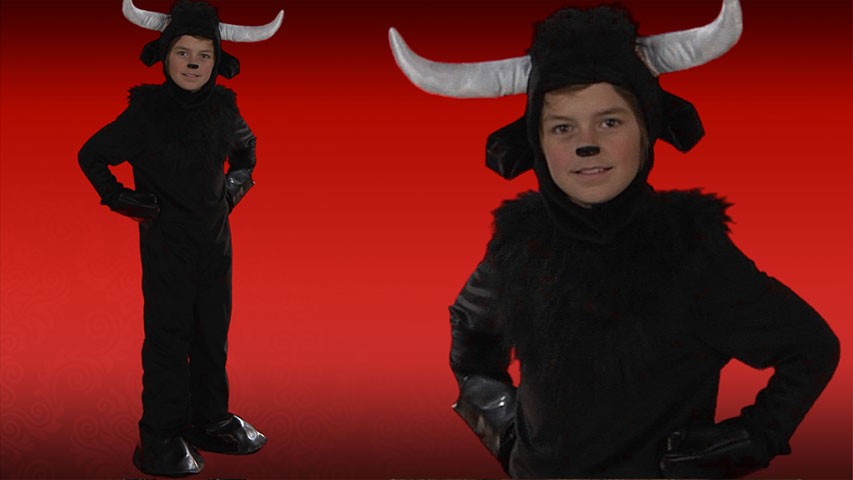 sc 1 st  Halloween Costumes & Child Bull Costume