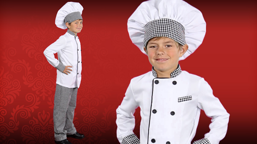 Child Chef Costume