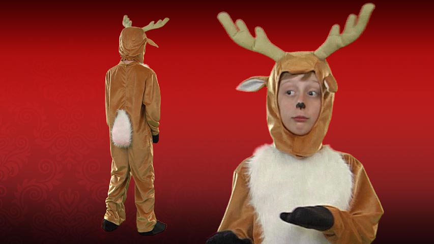 & Child Deer Costume