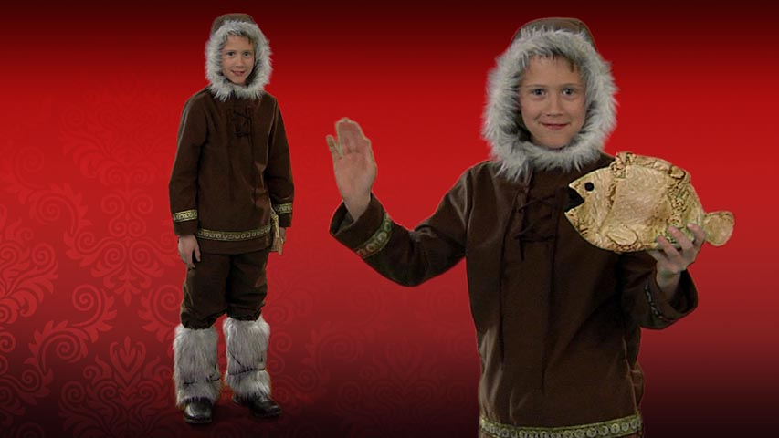 Child Eskimo Boy Costume