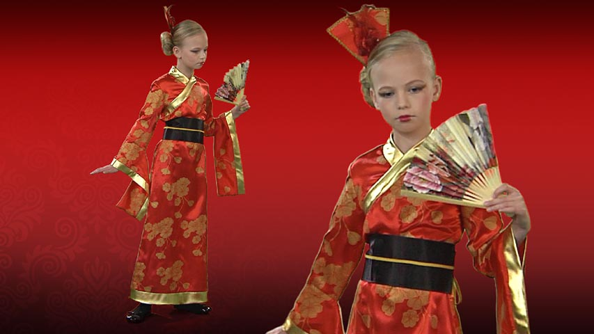 Child Geisha Costume