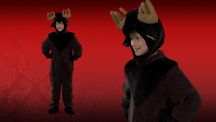 Child Moose Costume Video