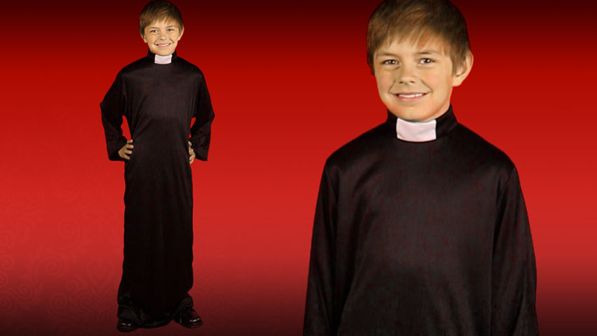 Child Priest Costume