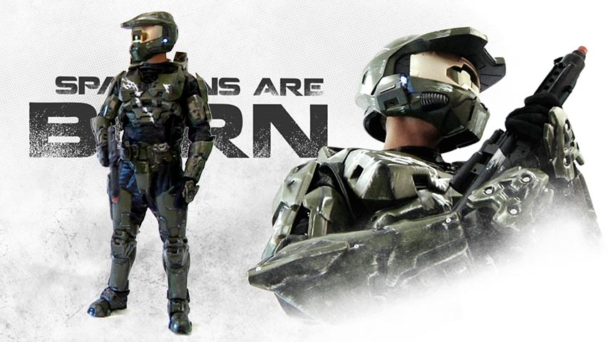 Collectors Halo Master Chief Costume