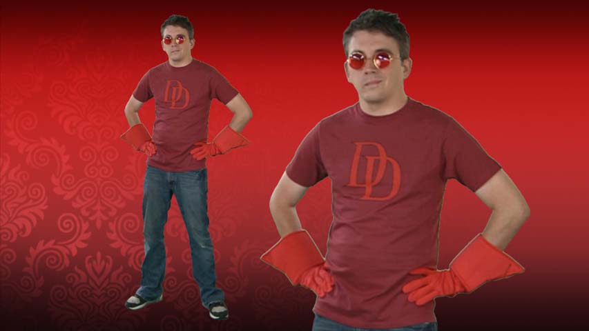 Daredevil Costume T-Shirt