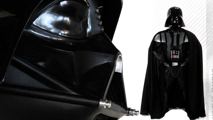 Authentic Darth Vader Replica Costume