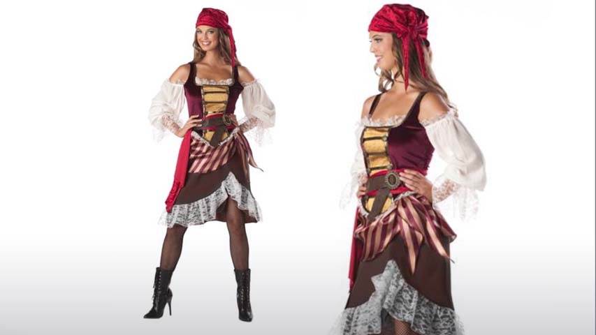 Deckhand Darlin Pirate Costume