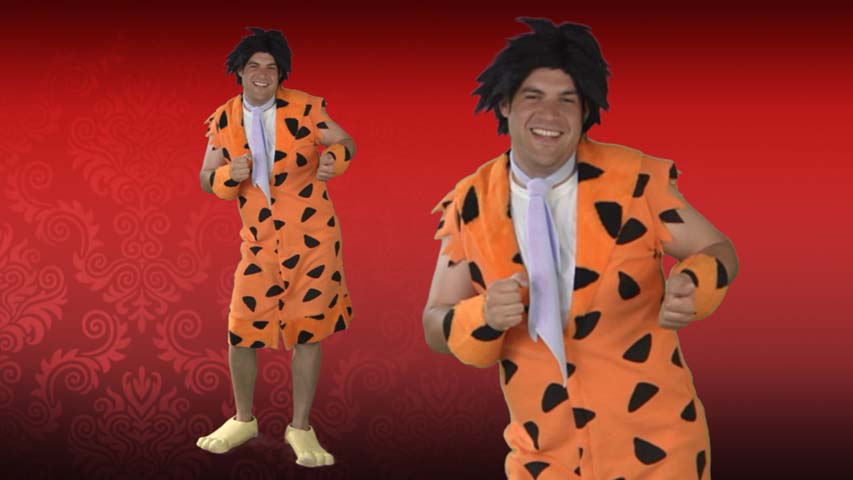 Deluxe Adult Fred Flintstone Costume