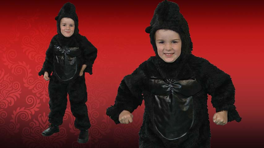 Deluxe Toddler Gorilla Costume