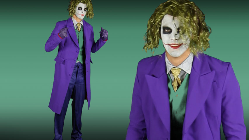 grand heritage authentic joker costume