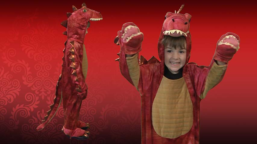 Hyrdra Red Dragon Costume