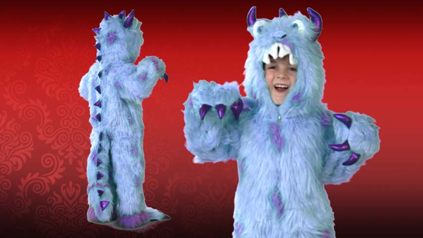 Kids Sullivan the Monster costume