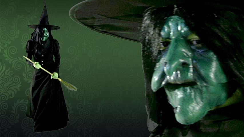 Latex Wicked Witch Mask