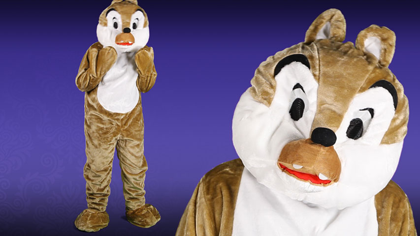 Mascot Chipmunk Costume