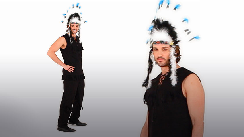 Men's Indian Chief Costume