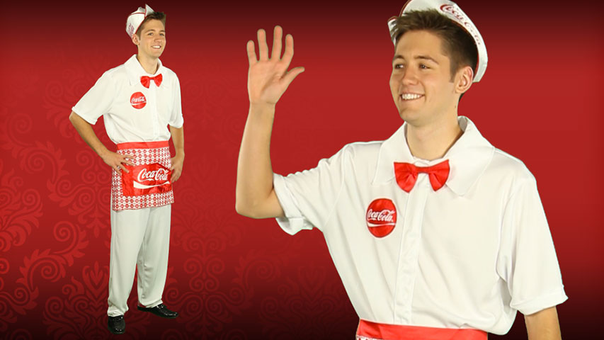 Mens Soda Jerk Costume