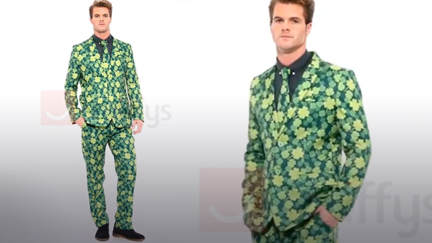 Men's St. Patricks Day Suit