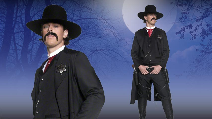 Mens Western Sheriff Costume