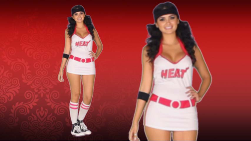 NBA Miami Heat Dress Costume
