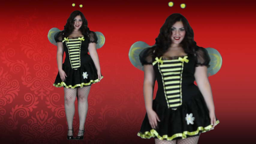 Plus Size Honey Bee Costume