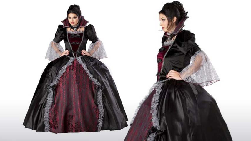 Plus Size Womens Versailles Vampiress Costume