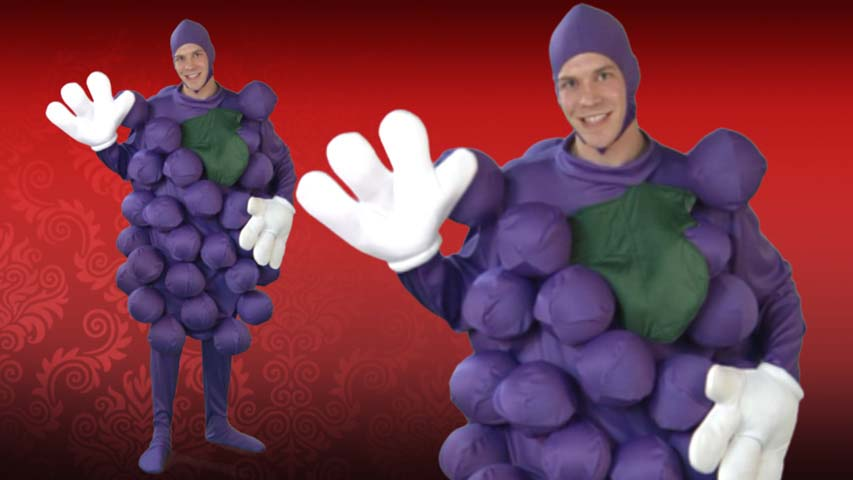 Purple Grapes Costume