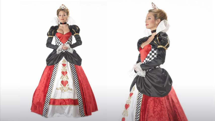 Queen of Hearts Deluxe Costume