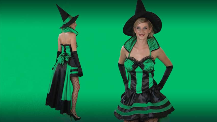 Sexy Deluxe Wicked Witch Costume