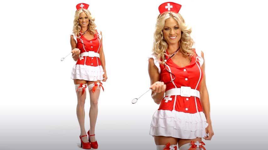 Sexy Red Nurse Costume