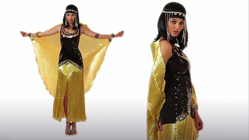 Sexy Sequin Cleo Costume