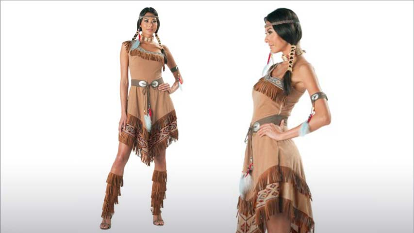 Sexy Tribal Native Costume