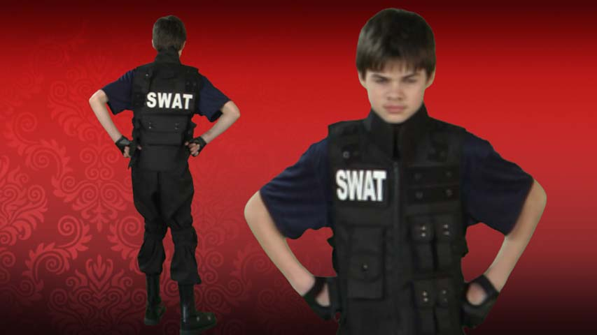 Teen SWAT Commander Costume