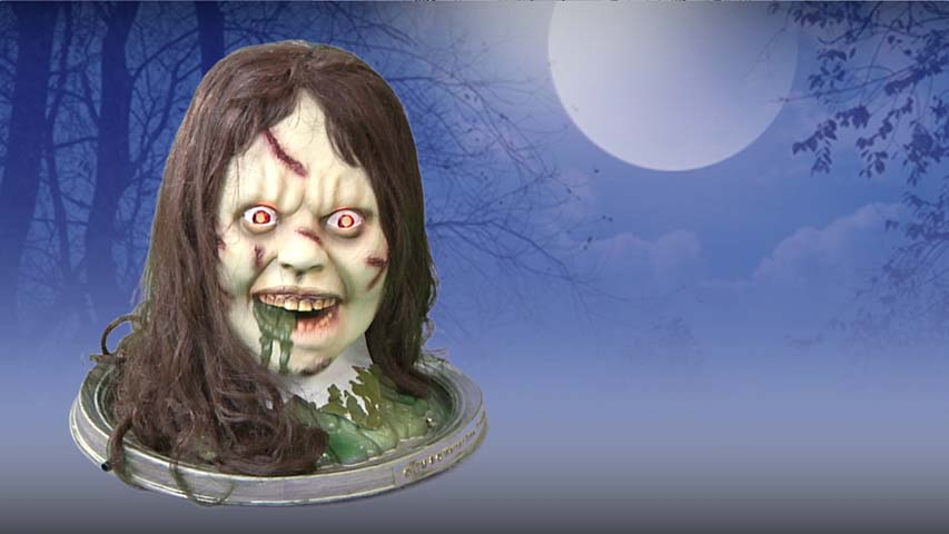 The Exorcist Head Platter- Halloween Prop