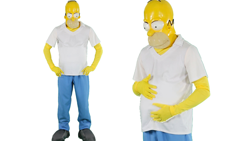 Simpsons Halloween Shirt.Kids Homer Simpson Costume Ladies Marge Costume With Wig Sc 1 St