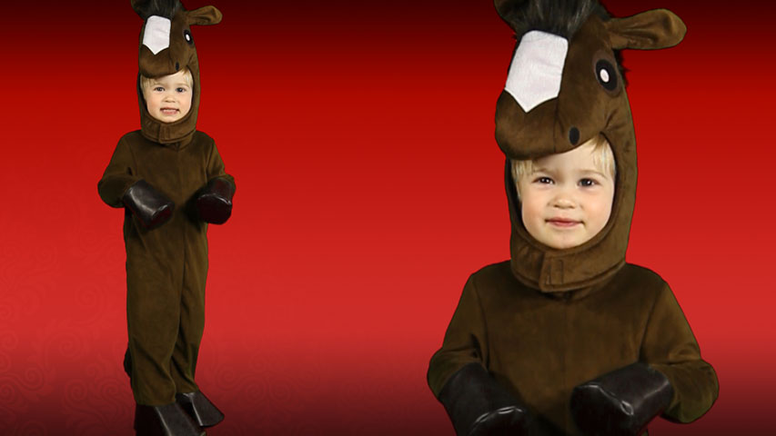 Toddler Happy Horse Costume