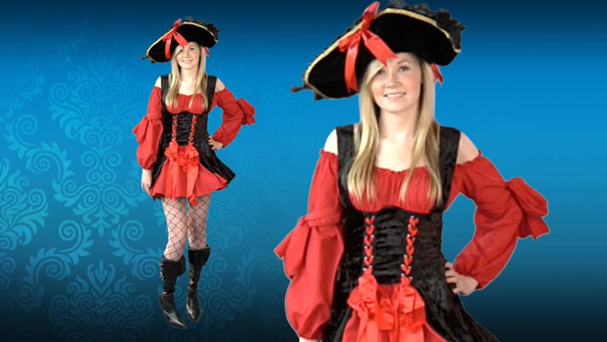 Sexy Vixen Pirate Costume