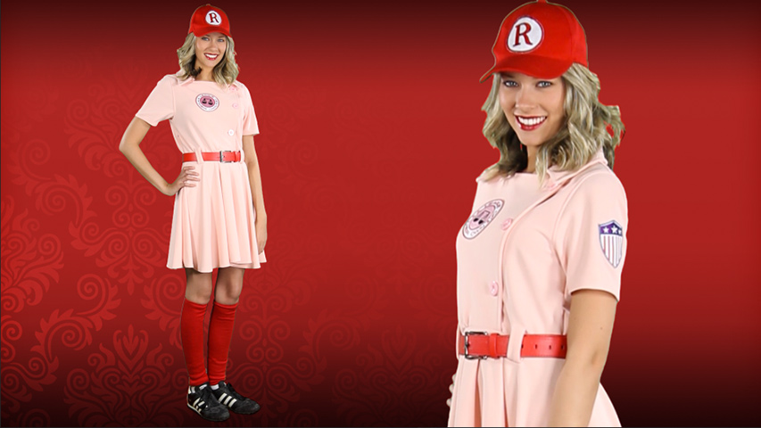 Women\'s A League of Their Own Dottie Costume