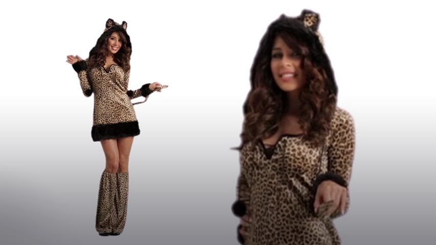 Womens Cheetah-Licious Costume