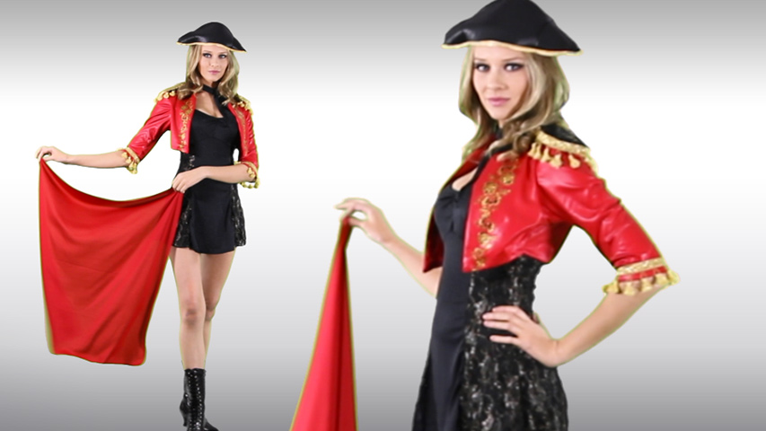 Womens Eye Candy Matador Costume